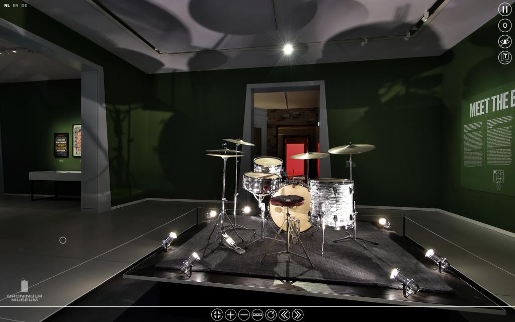 Drumstel Charlie Watts